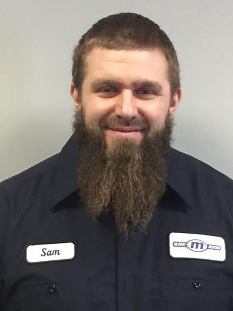 Sam Derr - Lead Recon Detail Technician