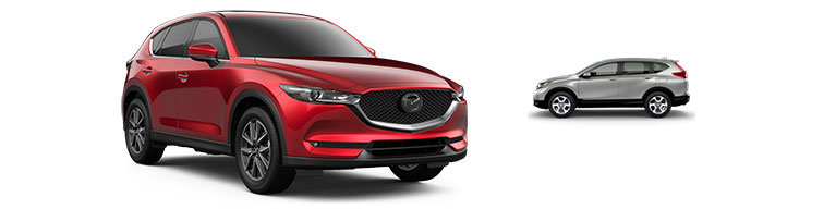 Mazda CX-5 vs Honda CR-V