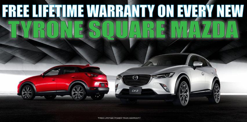 Tyrone Square Mazda Banner