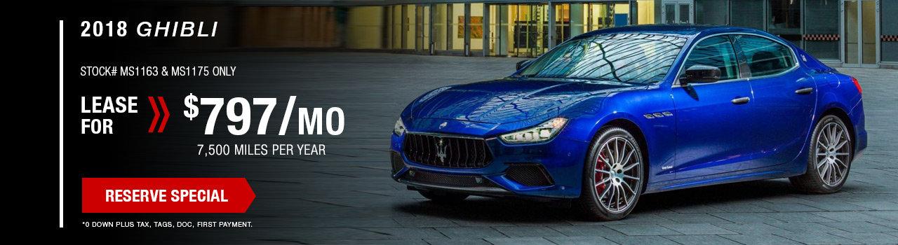 Maserati Specials   West Palm Beach, FL Maserati Sales