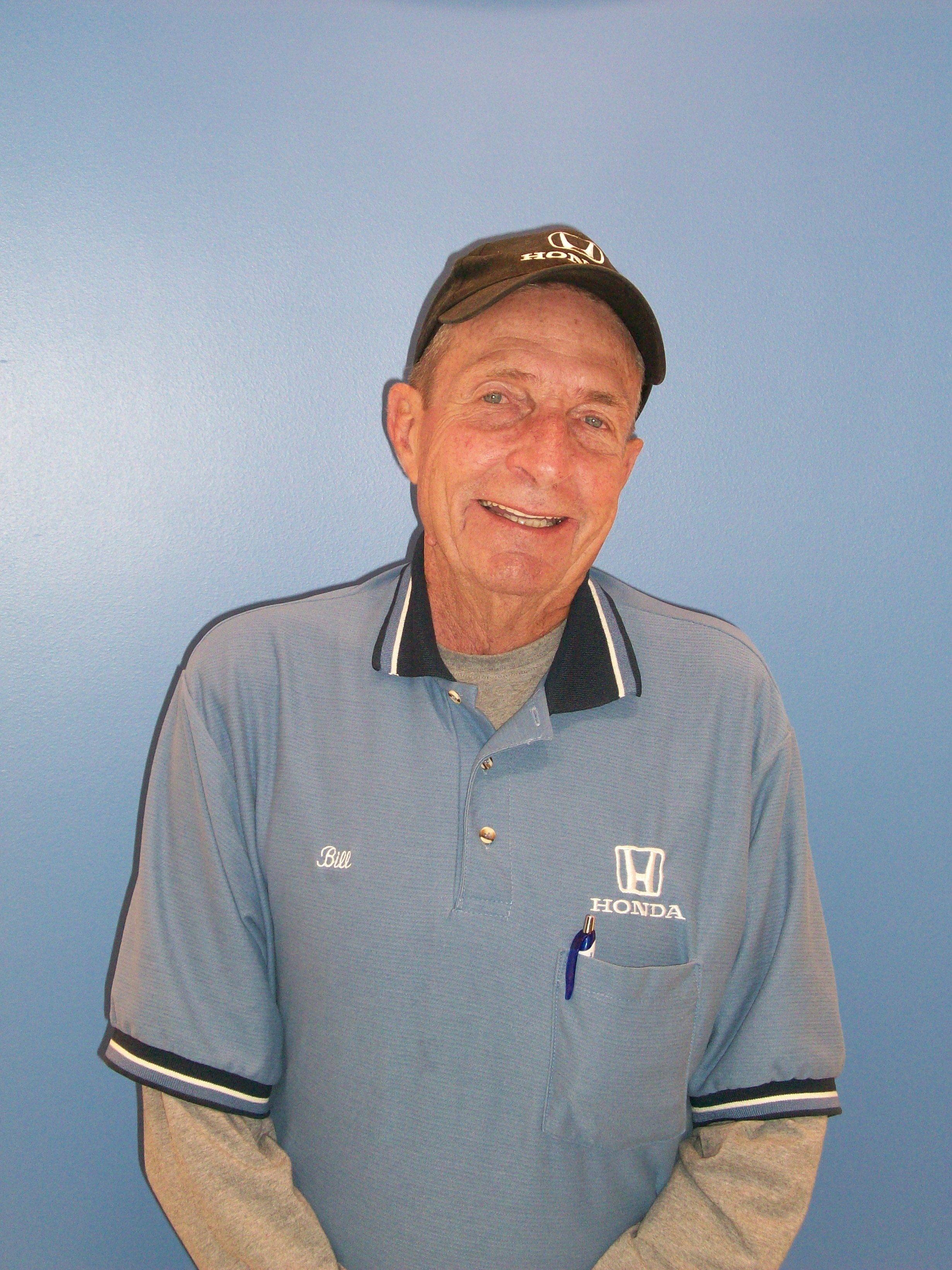 Bill Buck - Parts Driver