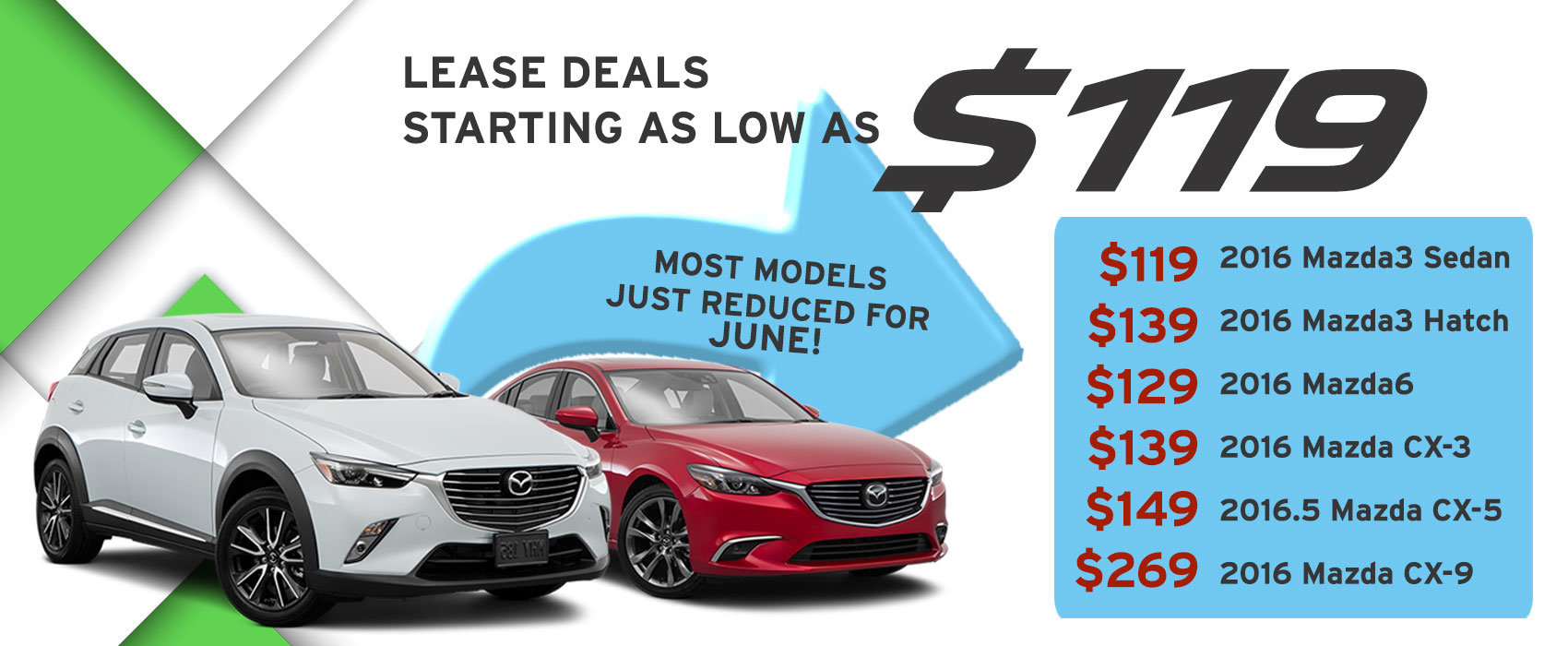 lease specials June 2016