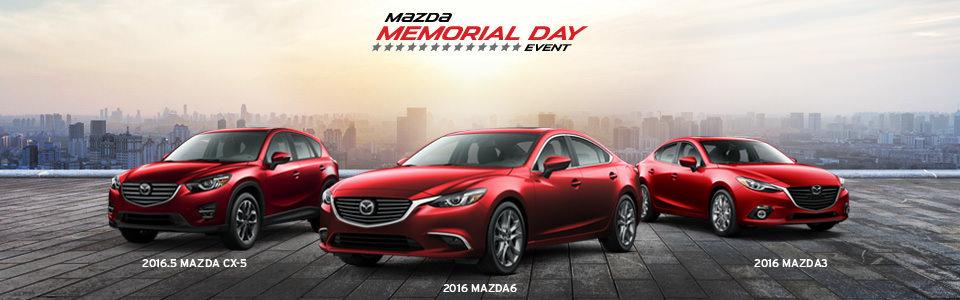 Memorial Day Mazda Event