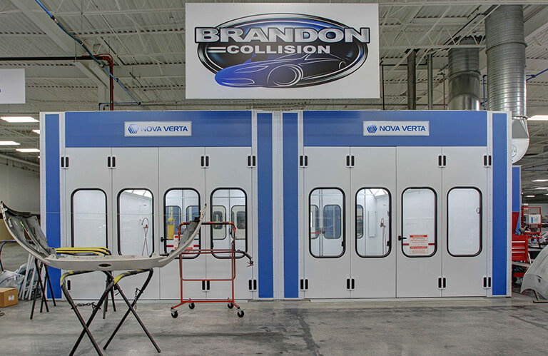 Brandon Collision Nova Verta Paint Booth