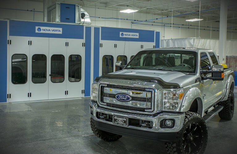 Brandon Collision Ford Truck Repair
