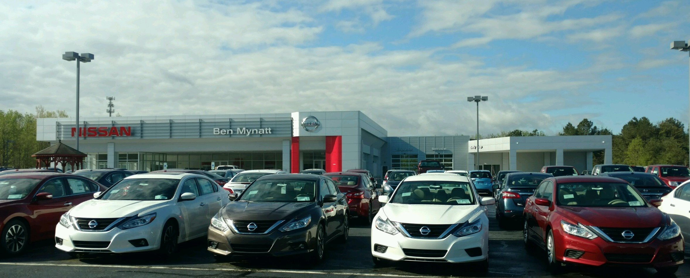 Ben mynatt nissan in salisbury north carolina