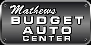 Home | Mathews Budget Auto Center
