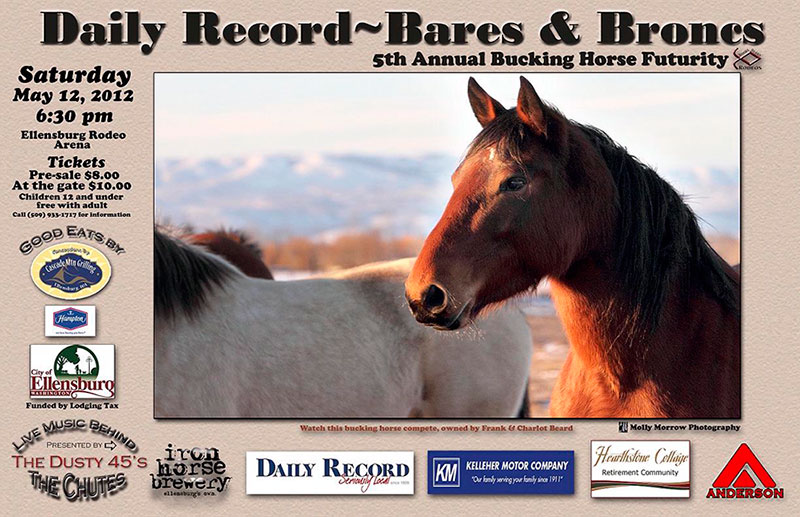 Bares and Broncs Sponsor May 2012 and 2013 at the Kittitas County Fairgrounds