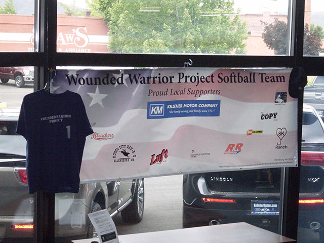 Wounded Warrior Softball Team Summer 2012 and 2013