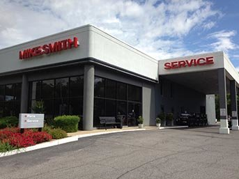 Mike Smith Mitsubishi Service Entrance