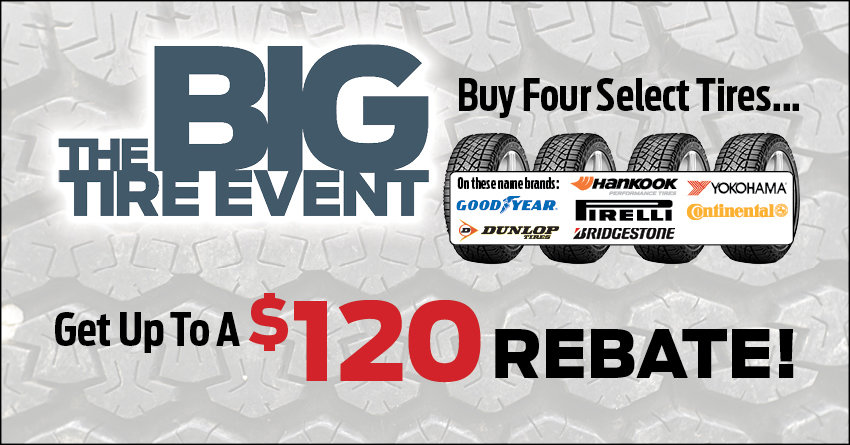 Lake Shore Ford Tire Event