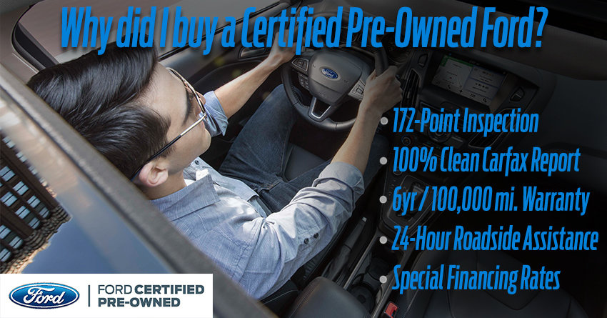 Ford Certified Pre Owned