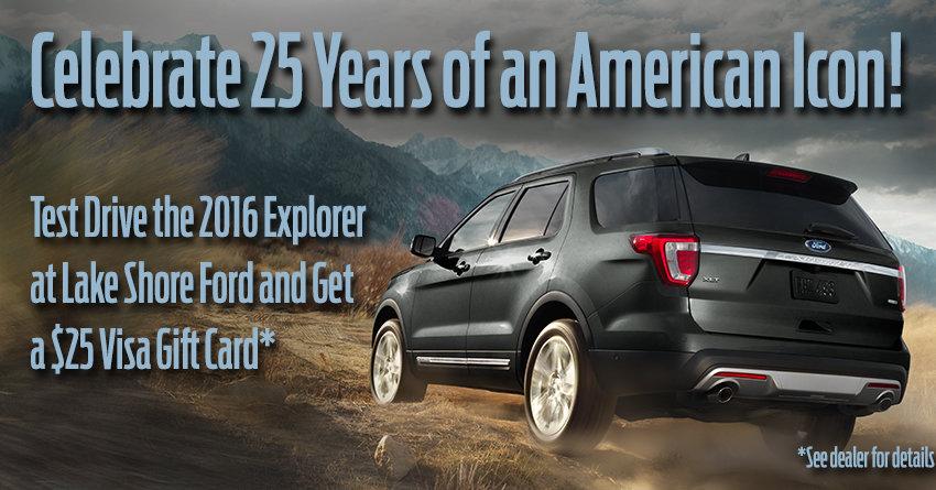 Explorer 25th Anniversary!