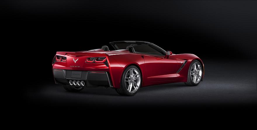 Chevy Corvette Stingray Interior