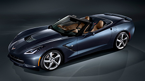 2017 Stingray Corvette Convertible