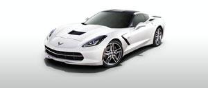 Arctic White 2015 Corvette