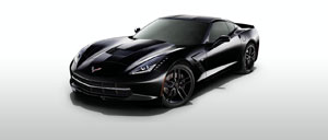 Black 2015 Corvette