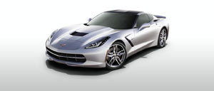 Blade Silver 2015 Corvette