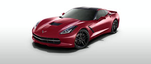 Crystal Red 2015 Corvette