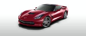 Crystal Red 2015 Corvette