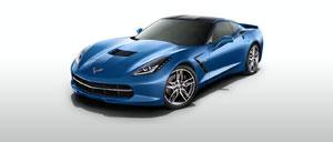 Laguna Blue 2015 Corvette