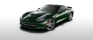 Lime Rock Green 2015 Corvette