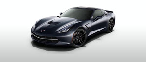 Night Race Blue 2015 Corvette