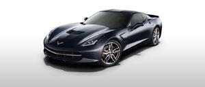 Night Race Blue 2015 Corvette