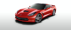 Torch Red 2015 Corvette