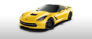 Velocity Yellow 2015 Corvette