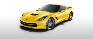 Velocity Yellow 2015 Corvette