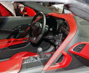 2015 Corvette Interior