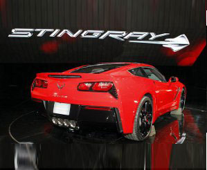 2015 Corvette Rear View