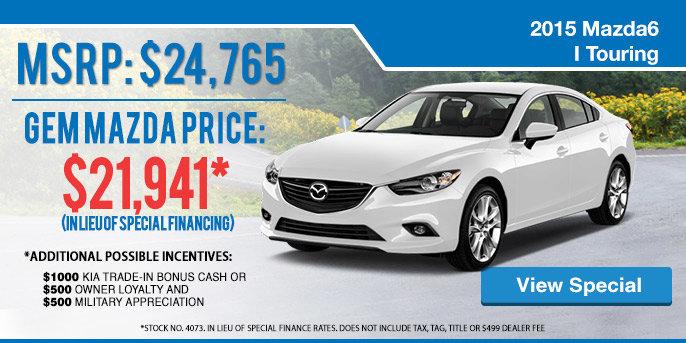 2015 Mazda6 Special