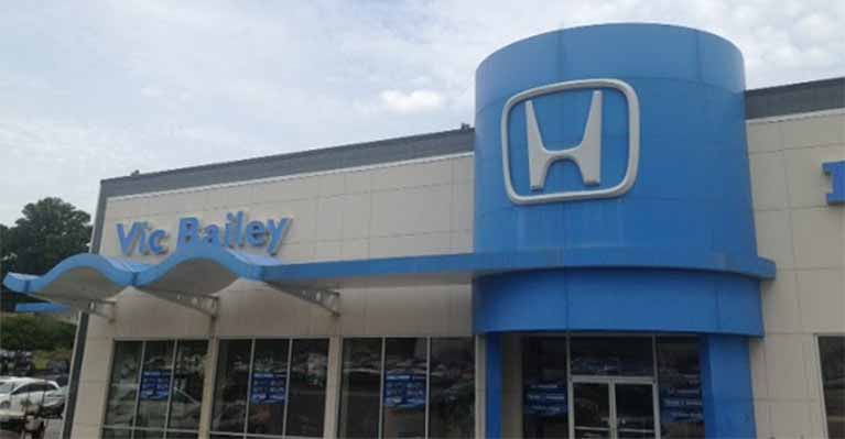 Vic Bailey Honda building