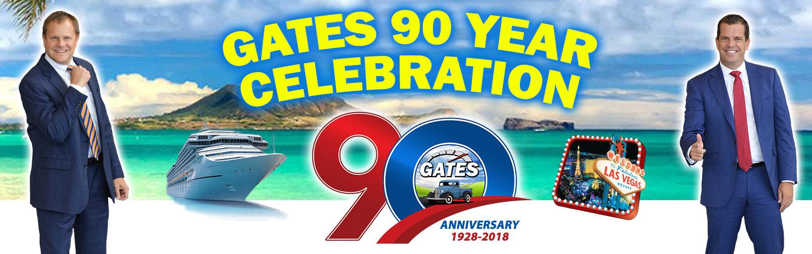 Gates 90th Promo