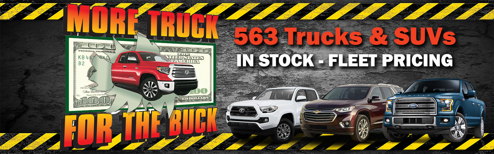 More Truck for Buck