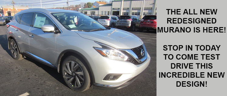 The all new redesigned Murano