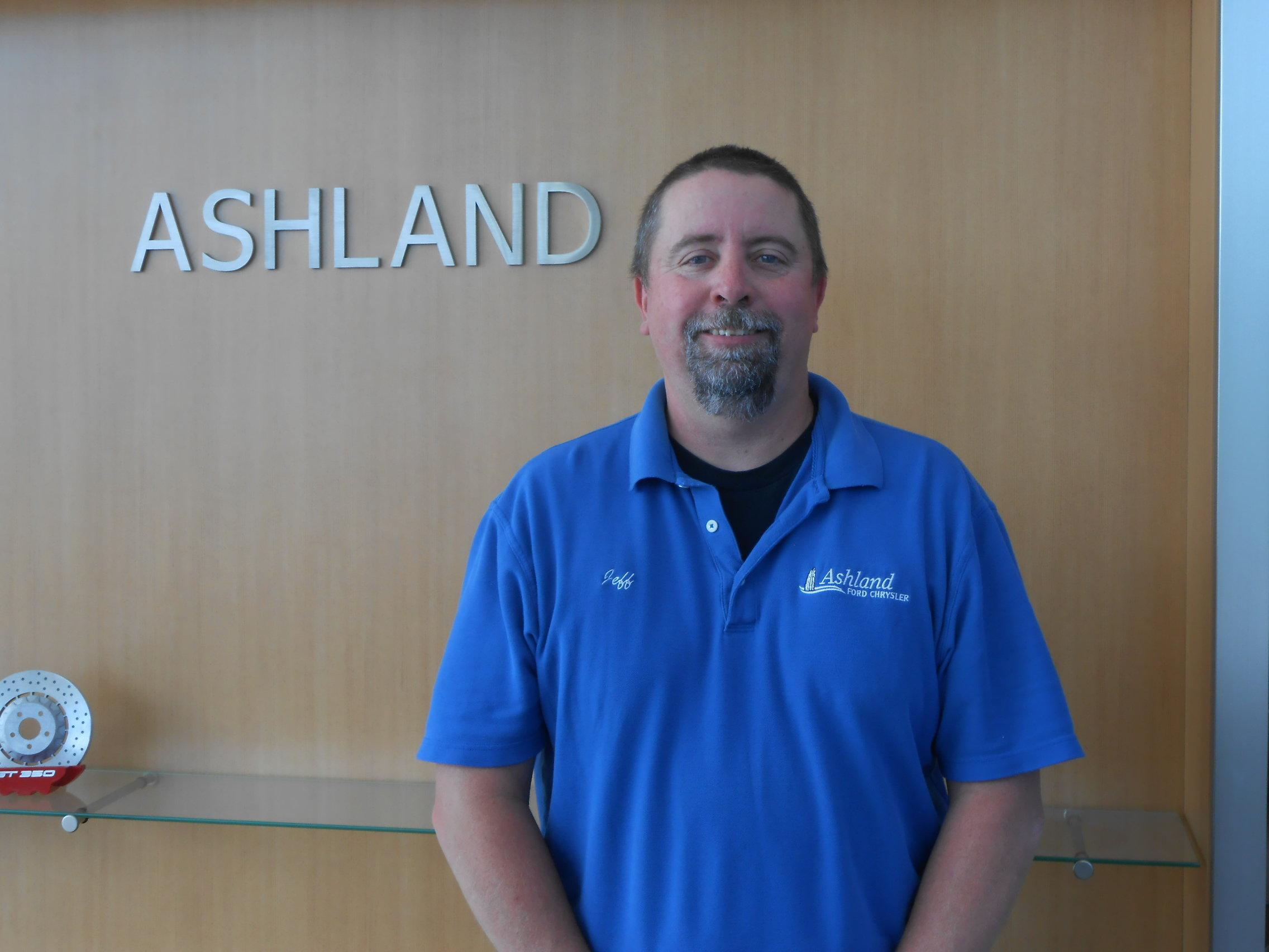 Jeff Mashlan - Service Manager