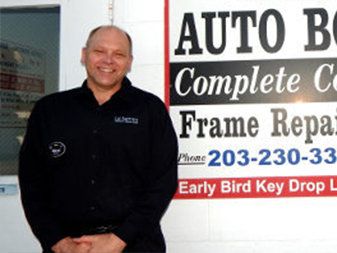 Dave Hutchins - Body Shop Manager