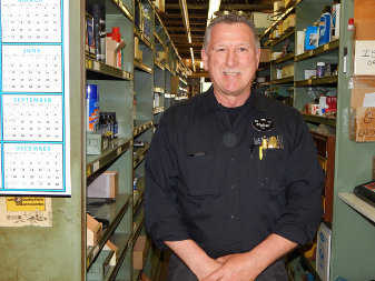 Mike Ende - Parts Manager