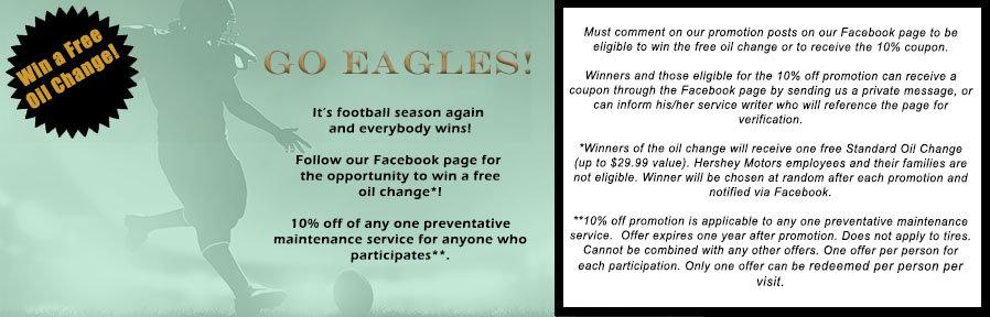 Eagles Service Promotion