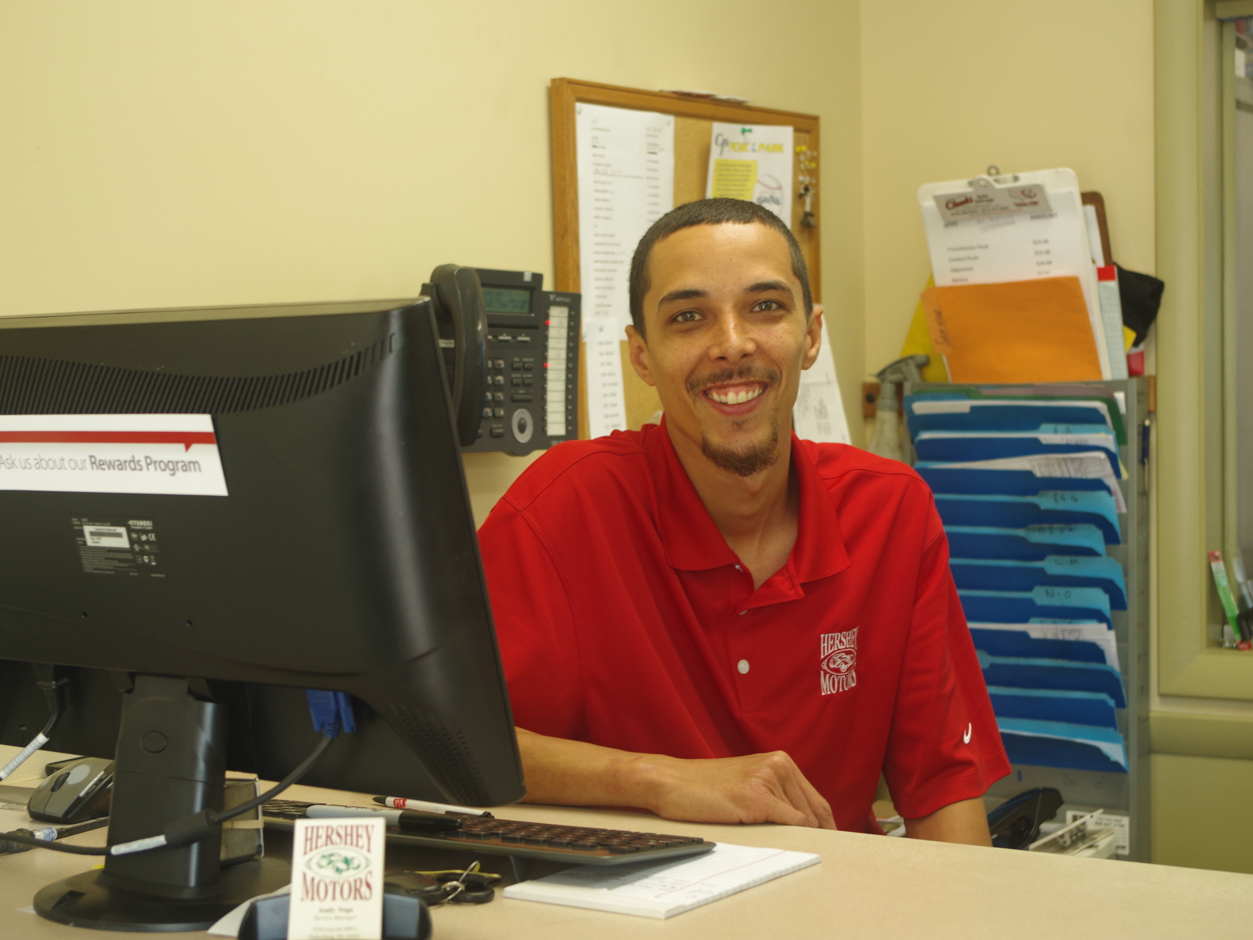 Andy Vega - Service Manager