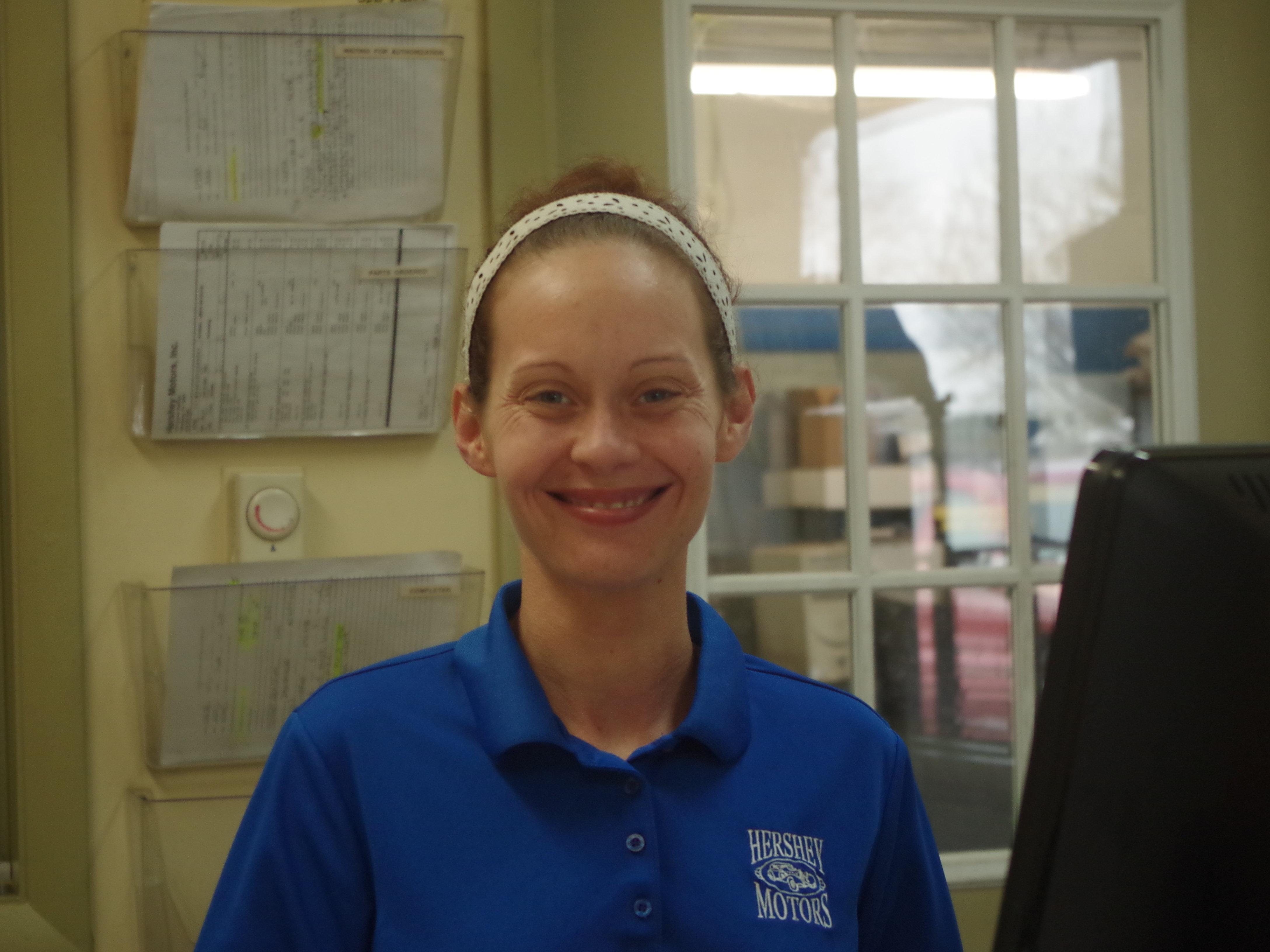 Amanda McLaughlin - Service Receptionist