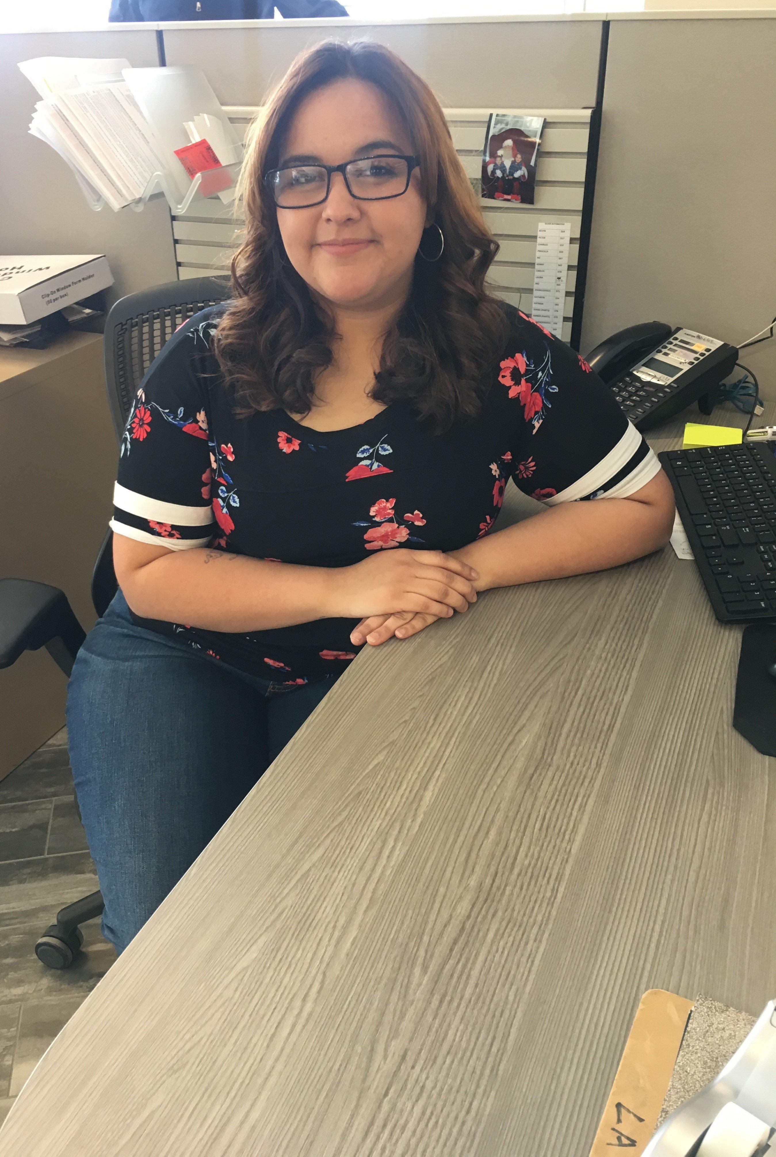 Jasmin Valenzuela - Accounting Clerk