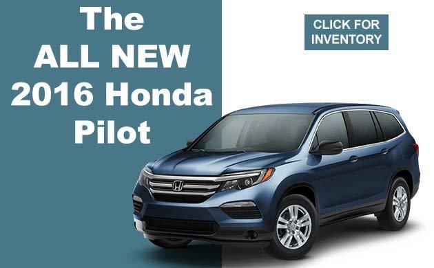 The All New 2016 Honda Pilot
