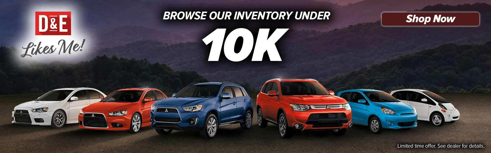 Inventory under 10K
