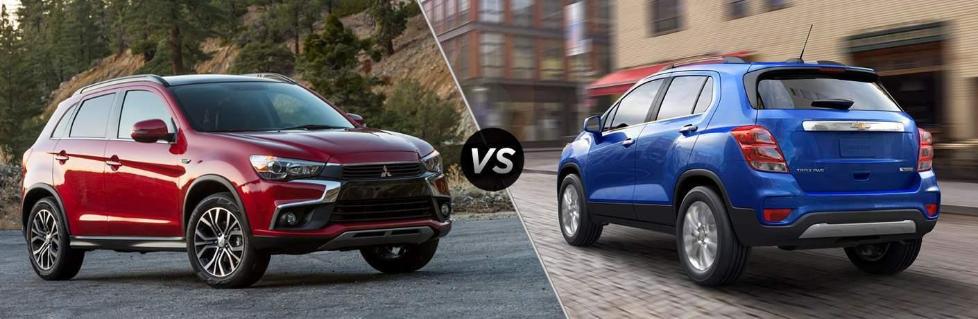 2017 Mitsubishi Outlander Sport vs. 2017 Chevrolet Trax