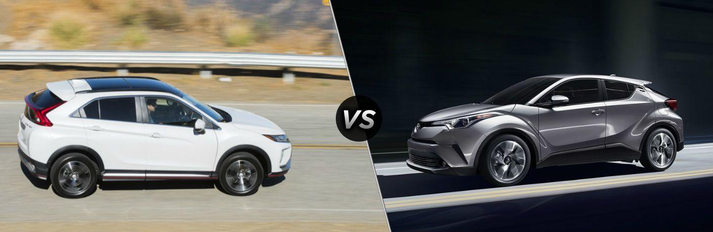 2018 Mitsubishi Eclipse Cross vs 2018 Toyota C-HR
