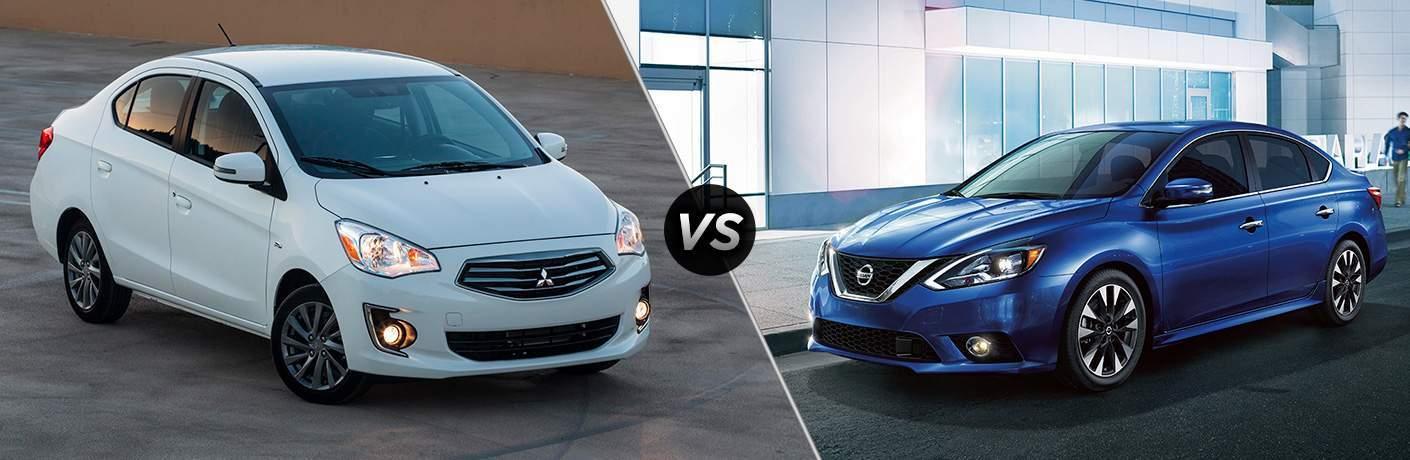 2018 Mitsubishi Mirage G4 vs 2018 Nissan Sentra